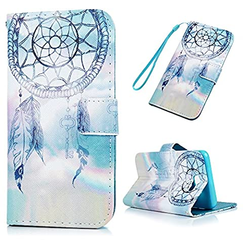 Galaxy J5 Prime/On5 2016 Case MAXFE.CO Premium PU Leather Cell