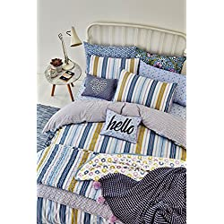 Helena Springfield Melody de lit, Super King Size, Coton Polyester, Bluebell, Super-King