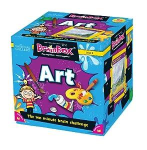 Green Board Games BrainBox Art- Juego de Mesa (en inglés) Importado de Gran Bretaña