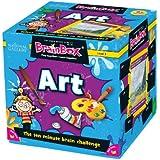 Green Board Games BrainBox Art- Juego de mesa (en inglés) [Importado de Gran Bretaña]