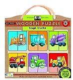 Tough Trucks Wooden Puzzle