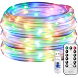 Lepro Cadena de Luces LED, 10m 100 LED 8 modos, USB Exteriores, Guirnalda Luces RGB Multi Colores, Temporizador, Resistente a