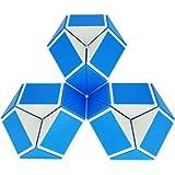 iLink Magic Snake 24 segmenti Serpente Magico Cubo Puzzle-Magic Snake Cube-Giocattoli del Serpente di Bomboniere per Feste di