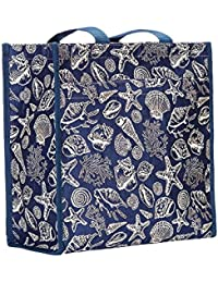Signare Sea Shell Shopper Bag By Womens Fashion Tapestry Reusable Tote 31X30X13.5 Cm - Shop-Shell
