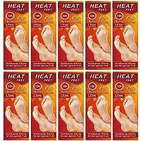 M&H-24 Sohlen-Wärmer Wärmesohle für Schuhe-Füße Fußwärmer Pads für warme Füße im Winter, 5-10-20-30 Paar beheizbare Einlegesohlen bis zu 10 Stunden 38°C, Grösse 36-41
