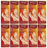 M&H-24 Wärmesohlen für Schuhe-Füße Fußwärmer Pads Sohlen-Wärmer für warme Füße im Winter, 10 Paar beheizbare Einlegesohlen bis zu 10 Stunden 38°C, Grösse 36-41