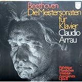 Beethoven: Die Meistersonaten für Klavier (Pathetique/Mondschein/Waldstein/Appassionata/Opus 111) [Vinyl Doppel-LP] [Schallplatte]