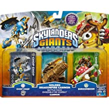 Activision Skylanders: Giants - Golgen Dragonfire Cannon Battle Pack - kits de figuras de juguete para niños (Multicolor)