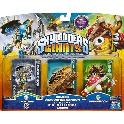 Activision Skylanders: Giants - Golgen Dragonfire Cannon Battle Pack - kits de figuras de juguete para niños