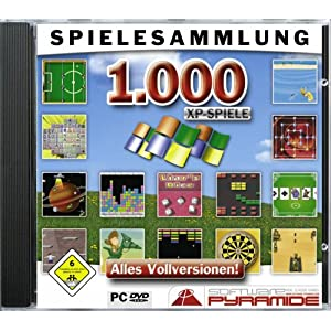 1.000 XP-Spiele [Software Pyramide]