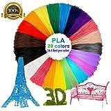 3D Stift Filament,Ink Filament PLA Filament 3D PrintFilament für 3D Drucker-Stift 3D Pen 3D Stift 3D Drucker 1,75 MM (2