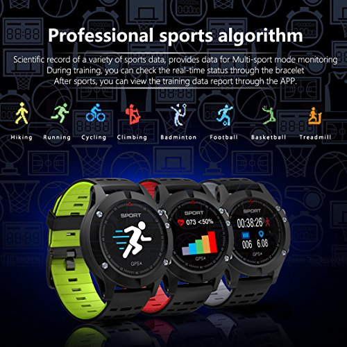 614SWgKM2CL. SS500  - Smart watch,Sports Watch with Altimeter/ Barometer/Thermometer and Built-in GPS , Fitness Tracker for Running,Hiking and Climbing ,IP67 Waterproof Heart Rate Monitor for Men, Women and Adventurer.