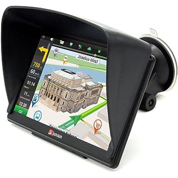junsun 7 zoll gps navigator navi mit vorgeladene europe. Black Bedroom Furniture Sets. Home Design Ideas