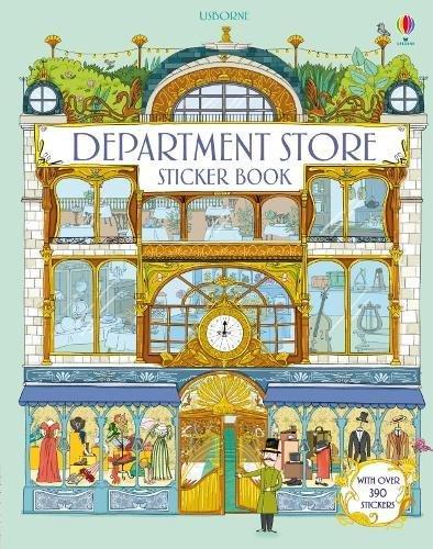 Department Store Sticker Book (Doll's House Sticker Books)