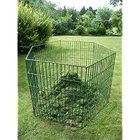 Aufbewahren & Ordnen Laub & Rasenschnitt Komposter Hexagon über 1.700 Liter Füllvolumen grün 5Engel Abfall & Recycling