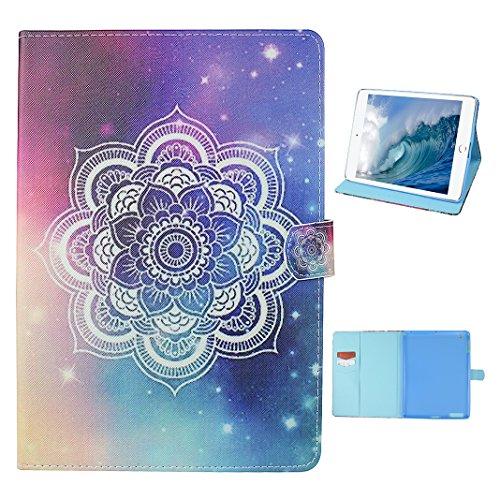 Tasche mit auto Sleep / Wake für iPad 4, iPad 2 Hülle Leder, iPad 3 Bumper Hülle, Moon mood® mit Auto Wakeup / Untätigkeit Funktion Ledertasche für Apple iPad 2/3/4 (9.7 Zoll) , PU Leder Cover Hülle F 1 Totem F