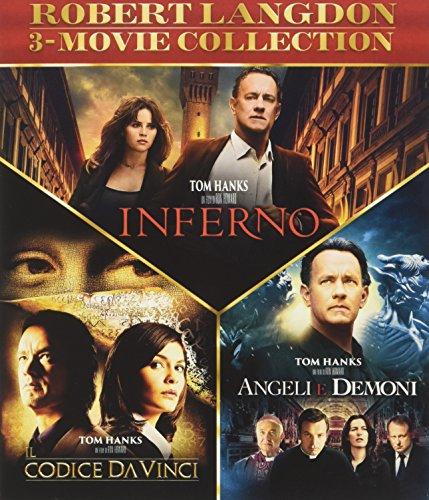 Robert Langdon Trilogia (3 Blu-Ray) [Italia] [Blu-ray]