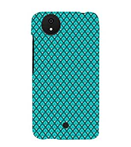 Colourful Pattern 3D Hard Polycarbonate Designer Back Case Cover for Micromax Canvas Android A1 AQ4501 :: Micromax Canvas Android A1