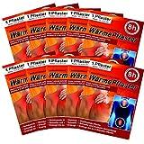 Wärmepflaster für Rücken Schulter Nacken Bauch - Wärmekissen Wärmespender Wärmepads Pflaster 8h