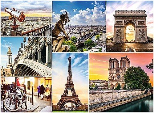 buy popular 6aaf9 cd3bb Jigsaw Puzzle 3000 pieces - Collage - Paris