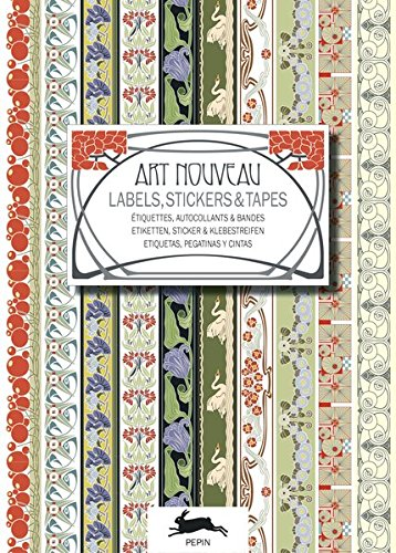 Preisvergleich Produktbild Art Nouveau - Labels, Stickers and Tapes: Label and Sticker Books (Label & Sticker Books)