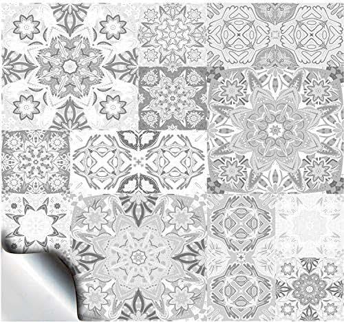 24 fliesenaufkleber f r k che und bad mosaik wandfliese. Black Bedroom Furniture Sets. Home Design Ideas