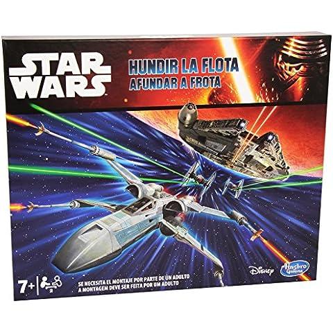 Star Wars - Juego de mesa Hundir La Flota (Hasbro B2358)