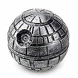 Spespo Estrella de la muerte de la estrella Grinder Grinder Metálico para Hierbas y Especias Ronda 3 Piezas de la trituradora