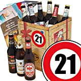 DDR Bierbox | Zahl 21 | Geschenk Idee Vater | Bier Set