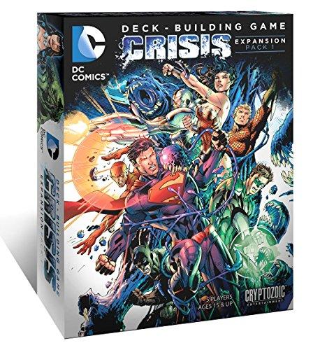 Card Game - DC Deck Building Game - Crisis Expansion Pack1 - CZE01774 - Cryptozoic (Sammelkarten Dc)