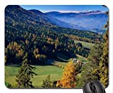Val Di Funes Mouse Pad, Mousepad (Forests Mouse Pad)