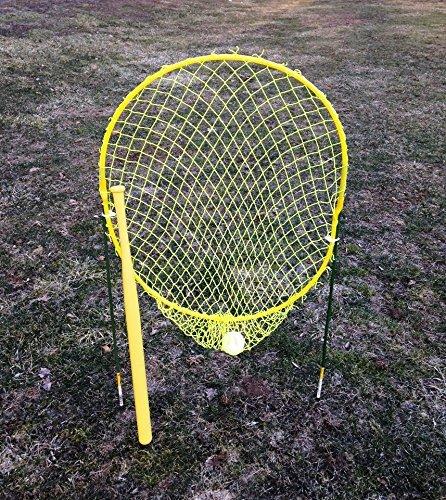 Xtra Feldspieler Pro Strike Zone Net mit Wiffle Marke Schläger und Ball -