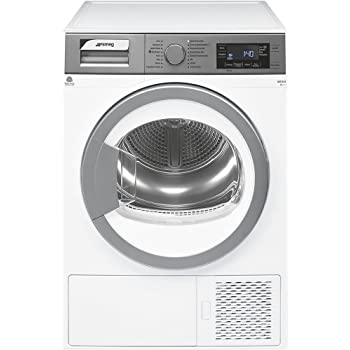 Smeg DHT73LIT freestanding Front-load 7kg A+++ White tumble dryer - Tumble Dryers (Freestanding, Front-load, Heat pump, White, Buttons, Rotary, Right)