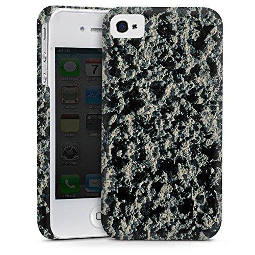 Apple iPhone 5s Housse Étui Protection Coque Roche volcanique Structure Motif pierre Cas Premium mat