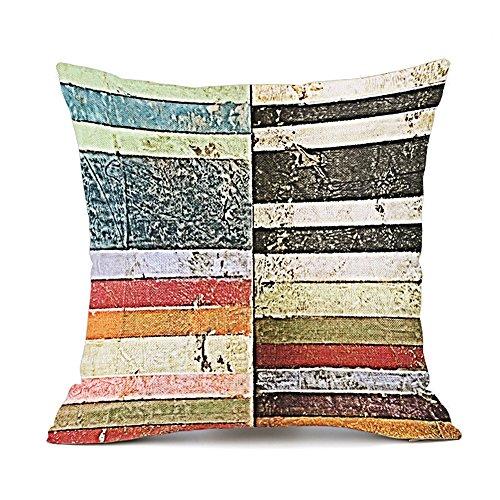 Redland Art Retro Bunte Geometrisch Gedruckt Muster Baumwolle Leinen Deko KissenbezügeFall Sofa...