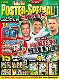 Panini Just Kick-It Magazin Nr. 1/2016 (April 2016) EM Poster Special - 2 Limited Karten Pogba & Ronaldo - 2 Sticker Booster deutsche Ausgabe