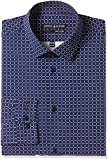 Arrow Newyork Men's Formal Shirt (8907259281018_ASQY5089_42_Navy)