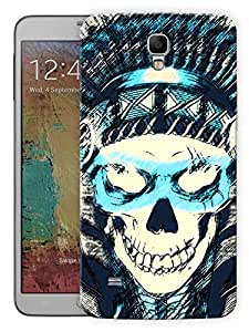 "Humor Gang Pirate Skull Printed Designer Mobile Back Cover For ""Samsung Galaxy Mega 6.3"" (3D, Matte Finish, Premium Quality, Protective Snap On Slim Hard Phone Case, Multi Color)"
