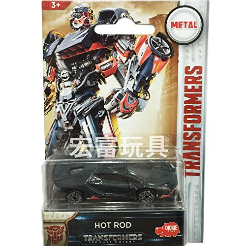 Dickie Toys 203111008 Transformers M5 Hot Rod modèle Voiture