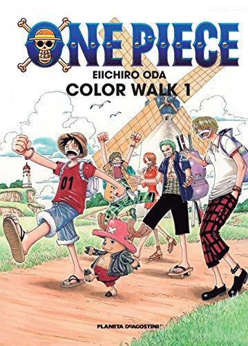 One Piece Color Walk nº 01 (Manga Artbooks) por Eiichiro Oda
