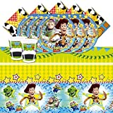 Disney Pixar Toy Story Children's Birthday Party Complete Tableware Pack For 16 by Disney