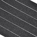 Yaheetech 50 Stk. Antirutsch Klebeband 28 x 2 cm Streifen für Treppen Schwarz