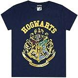 Harry Potter - camiseta para niños con el escudo de Hogwarts