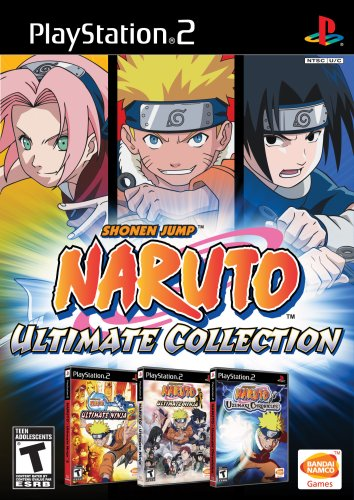 Naruto - Ultimate Collection [3 Spiele als Boxed-Version