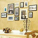 Galleria fotografica X&L Foto americano muro foto telaio solido legno composito a parete stile europeo soggiorno foto telaio parete...