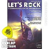 Let's Rock (+CD) inkl. Plektrum - E-Gitarrenschule für Ein- und Umsteiger mit Original-Gitarrenriffs und Soli von Queen, AC/DC, ZZ Top, Deep Purple und Judas Priest in Noten, Tabulatur und Audio-CD-ROM mit 9 Videos (Taschenbuch) von Peter Autschbach (Noten/Sheetmusic)
