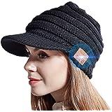JYPS Bluetooth Beanie Hat, Sombreros de Invierno de Punto inalámbricos para Mujeres Niñas Sombrero de Pico Sombrero de música