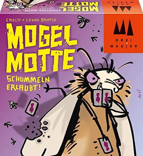 Schmidt Spiele 40862 Mogel Motte, Drei Magier Kartenspiel (8 Jahre Alte Spiele)