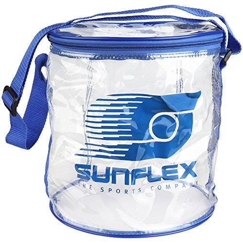 sunflex sport PVC Tischtennis Ball-Tasche ungefüllt