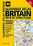 AA Glovebox Atlas Britain with 85 Town Plans